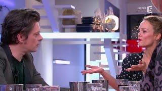 Benjamin Biolay et Vanessa Paradis parlent de leur collaboration - C à vous - 27/11/2014