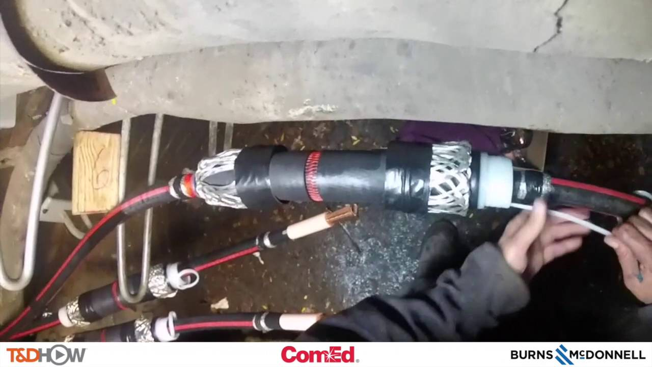 Underground Splice - YouTube