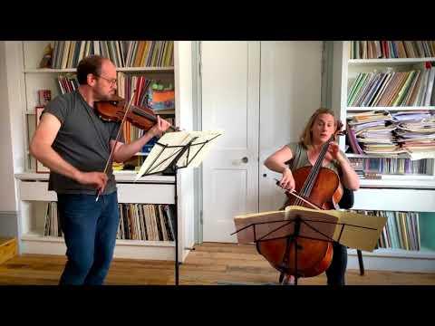SCMF At Home: Benjamin Nabarro (violin) And Gemma Rosefield (cello) - Duo