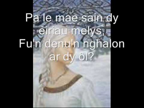 Love song from Wales (Myfanwy)