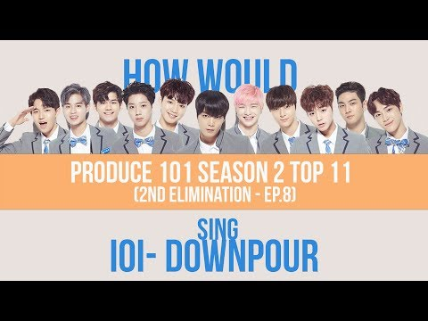 How Would Produce 101 Season 2 Current TOP 11 Sing DOWNPOUR (LINE DISTRIBUTION)