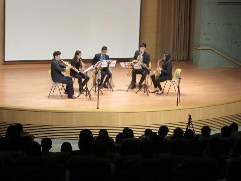 【原博巳 Hara Hiroshi X 米特薩克斯風重奏團 MIT Saxophone Ensemble 】