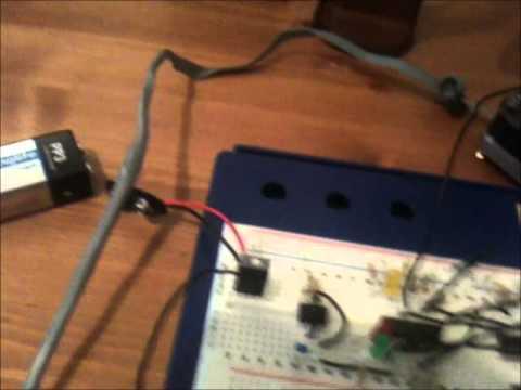 Discrete logic bipolar full wave stepper motor for Bipolar stepper motor control