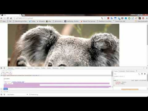 Displaying Images in server using Flask and Python  - YouTube
