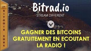 Bitradio Ou Comment Gagner Des Bitcoins Gratuitement En Ecoutant La Radio !