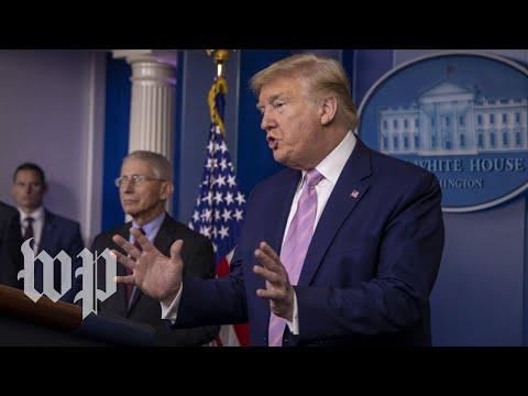 WATCH: Trump's coronavirus