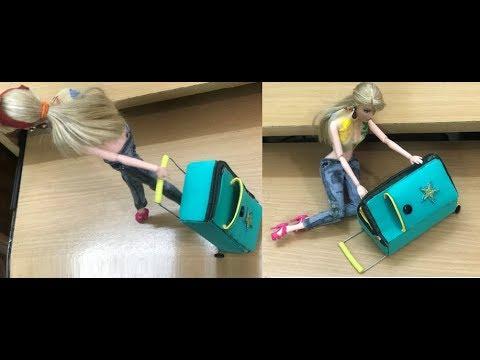 DIY Miniature barbie suitcase  Barbie Travel Suitcase