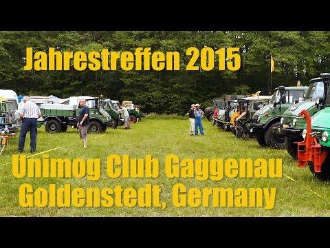 Unimog Film: Jahrestreffen 2015, Unimog Club Gaggenau, Goldenstedt Germany