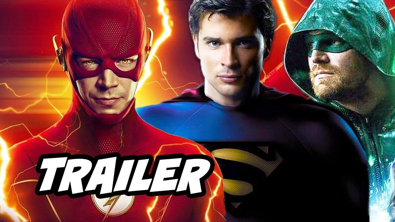 Download The Flash Season 6 Episode 4 Trailer Crossover Scene and Arrow Breakdown