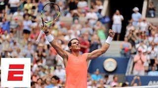 2018 US Open Highlights: Rafael Nadal advances in 4 sets to quarterfinals   ESPN