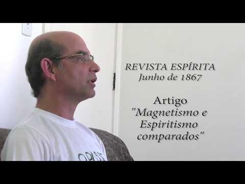 MAGNETISMO NA OBRA DE KARDEC por Adilson Mota (Aracaju/SE)