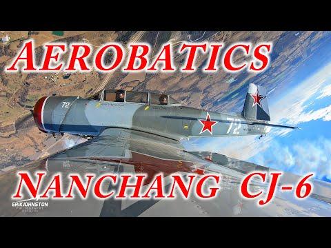 Aerobatics in a Nanchang CJ 6