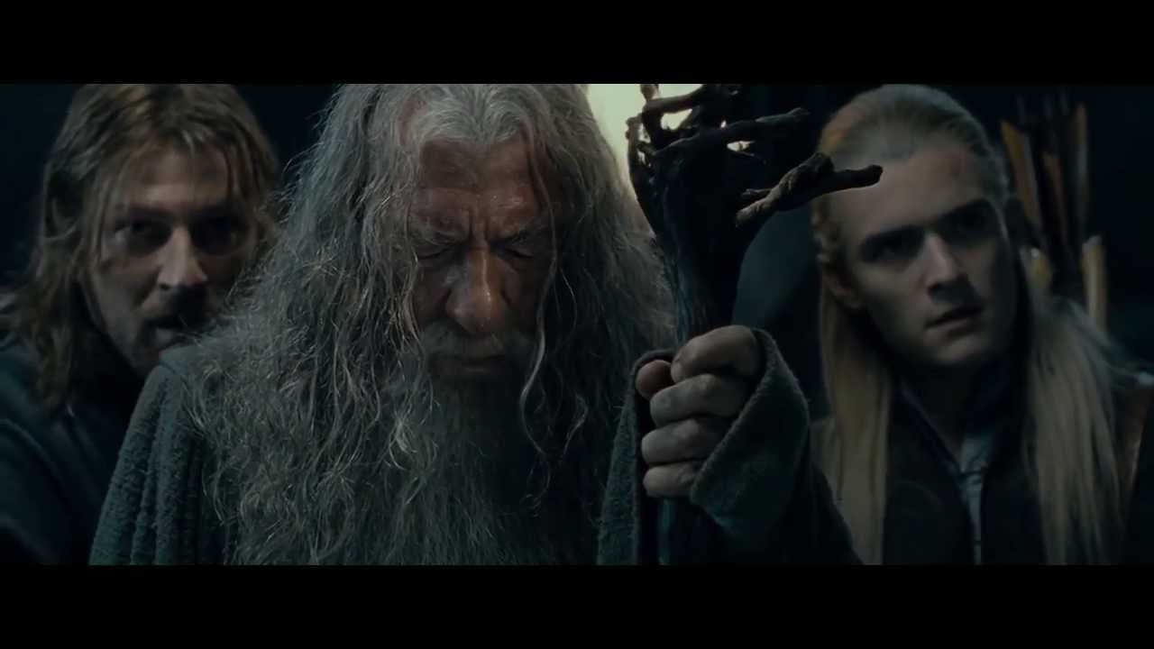 Download Lord of the Rings - Gandalf vs Balrog [Entire Battle HD 1080p]