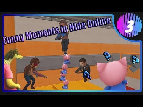 Что здесь происходит? Funny Moments in Hide Online #3!