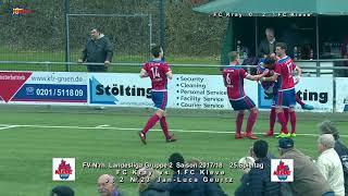 FV N'rh  L Liga Gr2 Saison 2017 18 SP25 FC Kray vs  1 FC Kleve 25 3 2018