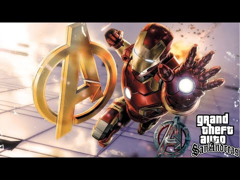 GTA San Andreas Iron Man Real Life Mod With Avengers Tower