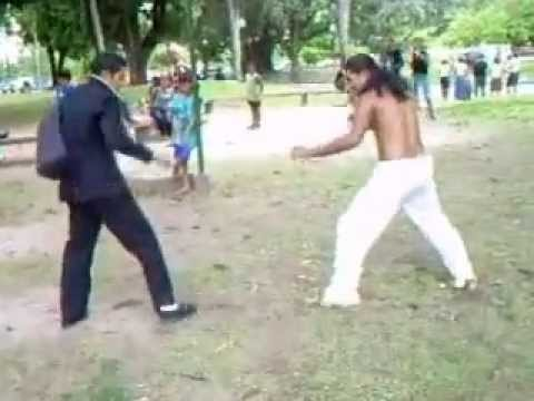 Kung Fu vs Capoeira