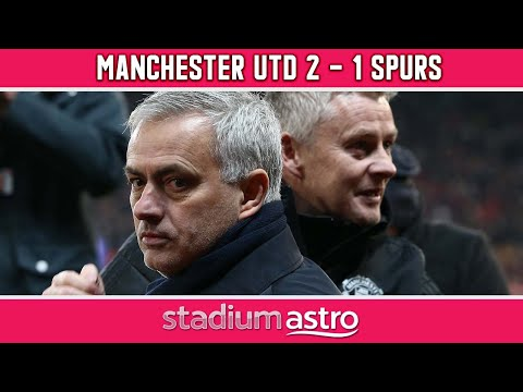 Manchester United 2-1 Tottenham   EPL Highlights   Astro Supersport
