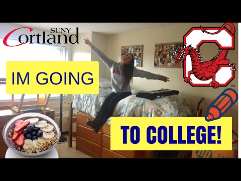 Im Going to Cortland!
