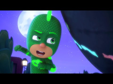 PJ Masks Full Episodes - GEKKO AND THE ROCK OF ALL POWER - 1
