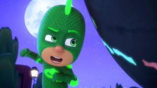 PJ Masks Full Episodes | GEKKO AND THE ROCK OF ALL POWER | 1 Hour | Cartoons for Children #101