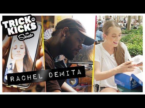 Rachel DeMita Gets CLEAN Adidas Customs From Sierato! Best