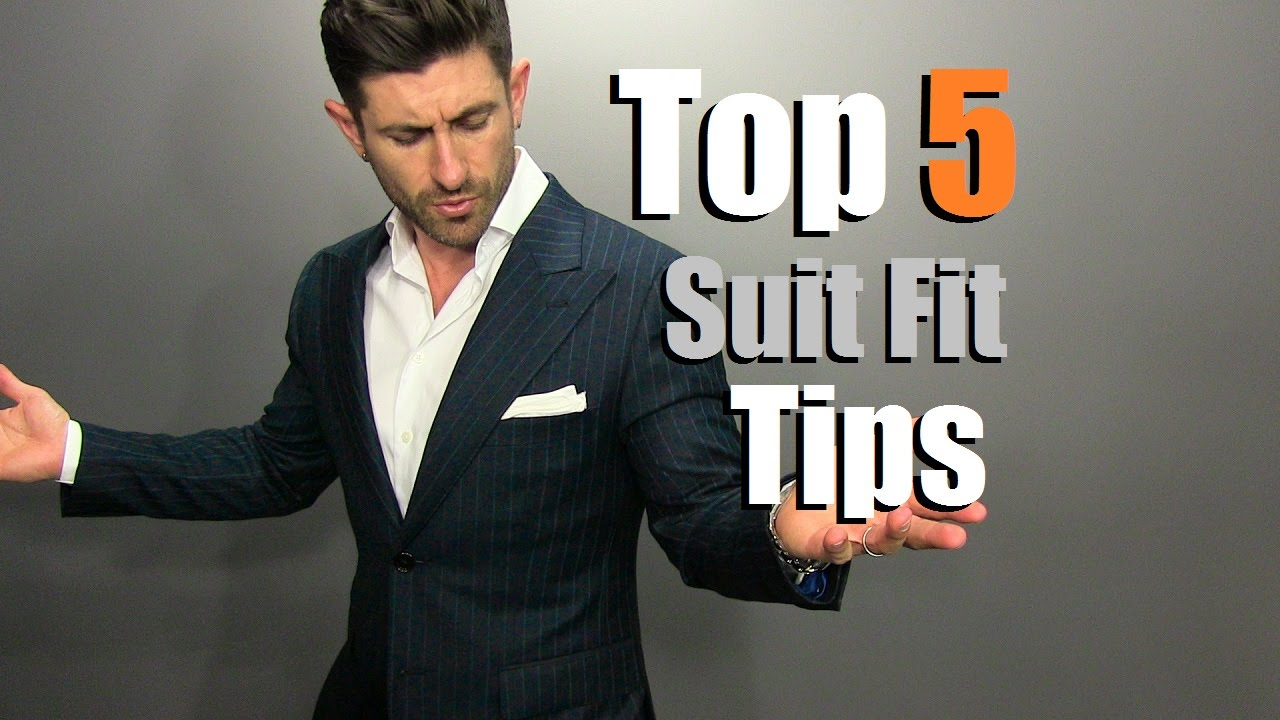 TOP 5 Suit Fit Tips | How To Buy A PERFECT Fitting Suit Online