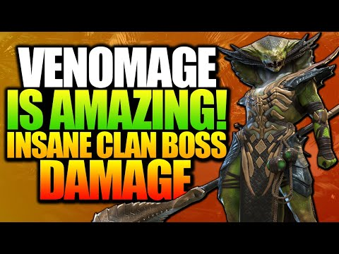 THIS EPIC ROCKS THE CLAN BOSS!! VENOMAGE CHAMPION SPOTLIGHT AND REVIEW RAID: SHADOW LEGENDS