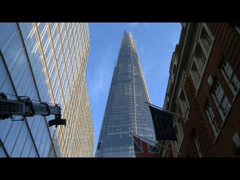 London's Shard symbol of the city's regeneration