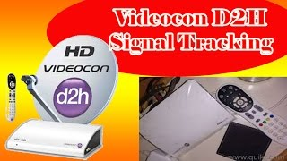 Videocon D2H RF Remote Paring and how to find signal menu in videocon d2h?