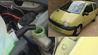Comment changer le liquide de refroidissement d'une Renault Twingo