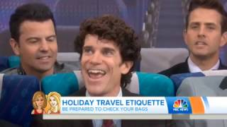 Middle Seat Etiquette With Mister Manners and New Kids on the Block