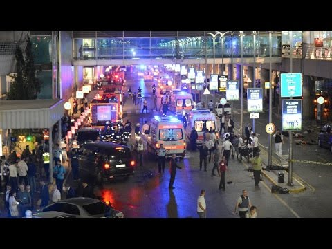 Istanbul Ataturk airport attack: witness recount heroism of policeman who wrestled suicide bomber