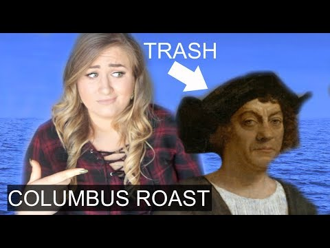 TRUTH ABOUT CHRISTOPHER COLUMBUS... Time To DRAG him.