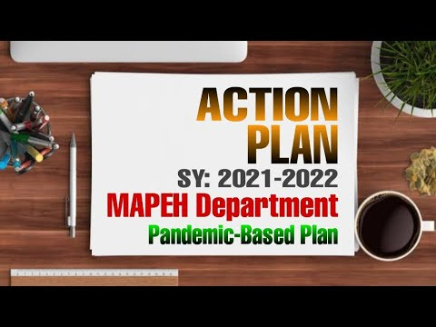 ACTION PLAN SY 2021-2022   MAPEH DEPARTMENT   PANDEMIC-BASED