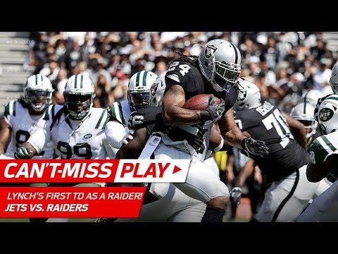 Marshawn Lynch's First TD as an Oakland Raider! | Can't-Miss Play | NFL Wk 2 Highlights