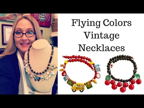 Jewelry To Sell: Flying Colors Vintage Necklaces