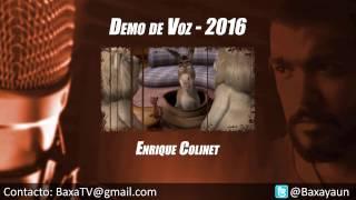 Enrique Colinet - Demo de Voz [2016]