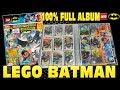 LEGO BATMAN TCG SERIE 1 👊  MAPPENUPDATE KOMPLETT 👊  alle 202 Karten + LIMITED