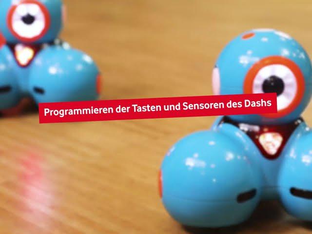 Dash - Tasten und Sensoren programmieren