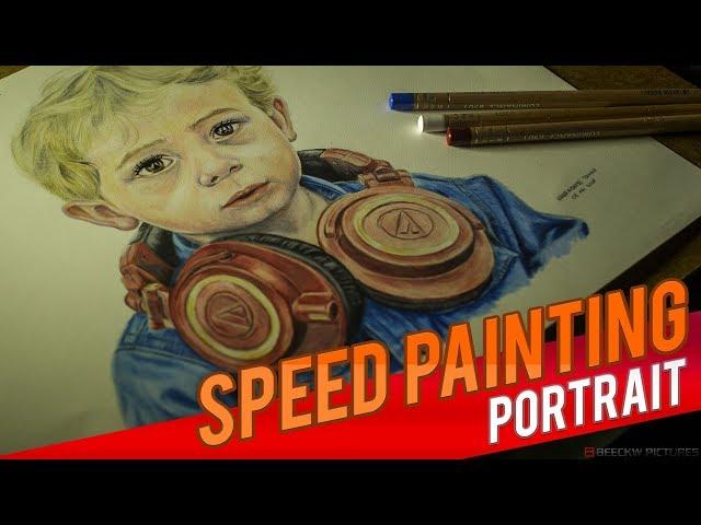Drawing Mathias [Speed painting]