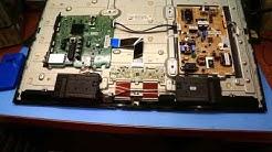 Samsung TV Demontage Backlight Verwertung