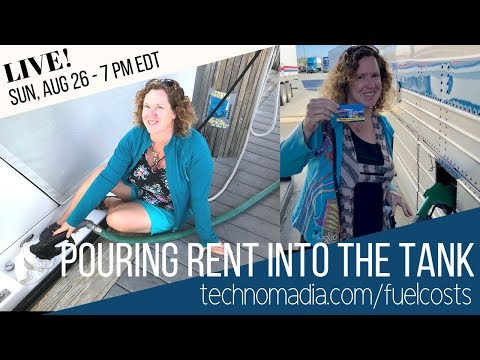 Pouring Rent Into the Tank: Fuels Cost Perspective for Full Time RVers & Boaters