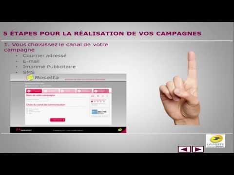 Piloter ses campagnes de mailing avec l'outil Rosetta de La Poste (par Laurent Baudry – La Poste)