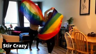 Social Distancing Workday Vlog- See Our Apartment | Lesbian LGBTQ+