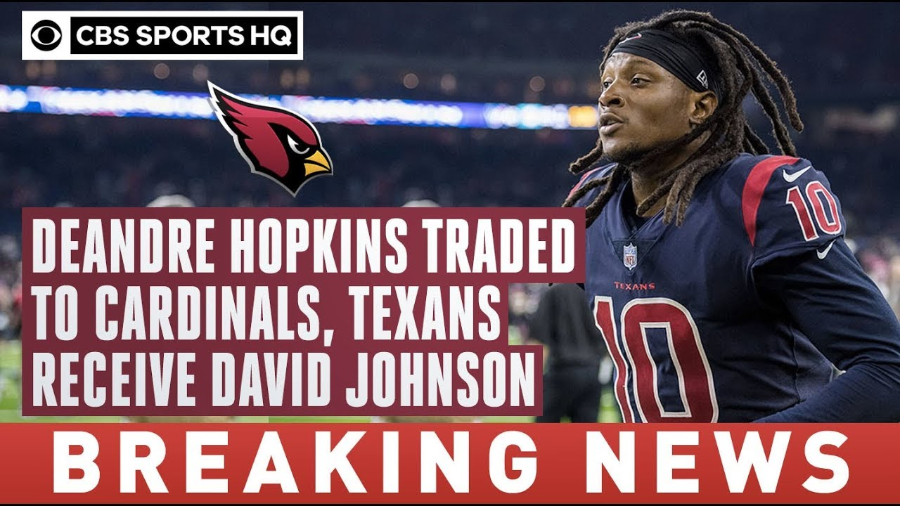 Deshaun Watson found out of the DeAndre Hopkins trade after his ...