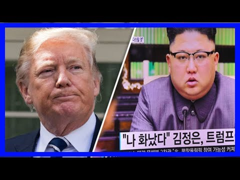 'trump is terrified of our super offensive' north korea mocks us president - TV ANNI