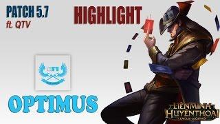 Highlight BM.Optimus - Twisted Fate vs ASF.Shady - Kow'Maw Midlane