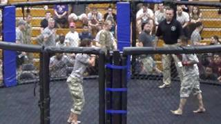 Male Female Featherweight Match Combatives Finals