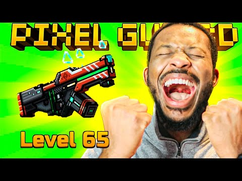 WE FINALLY HIT MAX LEVEL 65!! L Pixel Gun 3D